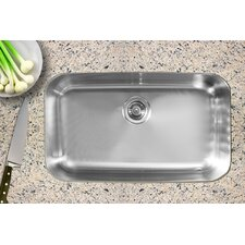 "30.5"" x 18.5"" Single Bowl Undermount Kitchen Sink"