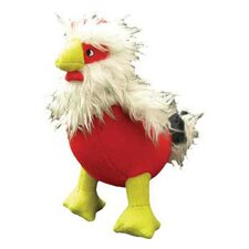 Clucky McChick Farm Rooster Dog Toy
