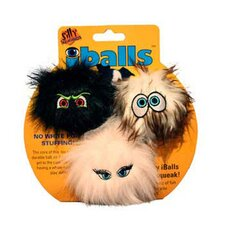 Small iBalls Dog Toy