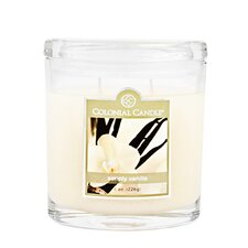 Simply Vanilla Oval Jar Candle