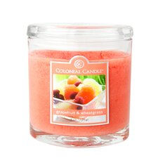 Grapefruit and Wheatgrass Jar Candle