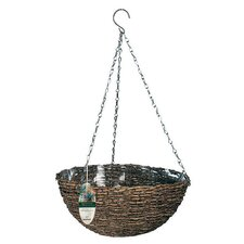 Natural Round Hanging Planter