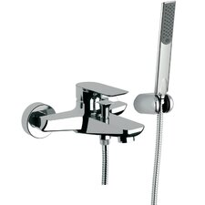 Single Lever Wall Mounted Tub Filler Diverter