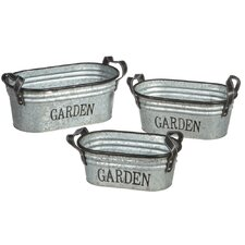 Garden Oblong Planter (Set of 3)