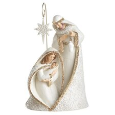 Holy Family Resin Scene 2 Piece Set