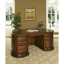 Winsome Executive Desk Complete with Keyboard Pullout