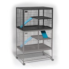 Ferret Nation Add-On Unit Cage in Gray