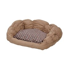 Quiet Time Scalloped Shar-Pei Dog Bed