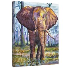 Dan McDonnell ''Elephant'' Canvas Art