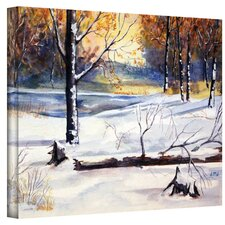 Dan McDonnell ''Winter Woods'' Canvas Art