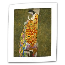"Gustav Klimt ""Hope"" Canvas Wall Art"