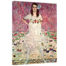 Gustav Klimt ''Eugenia Primavesi'' Canvas Art