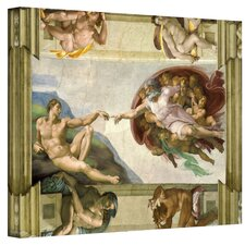 Michelangelo ''The Creation of Adam'' Canvas Art