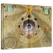 Antique Maps 'Harmonia Macrocosmica' Gallery-Wrapped Canvas Wall Art