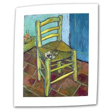"Vincent van Gogh ""Vincent's Chair"" Canvas Wall Art"
