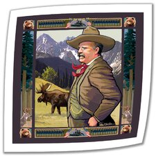 Rick Kersten 'Teddy Roosevelt' Unwrapped Canvas Wall Art