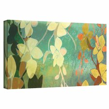 Jan Weiss 'Shadow Florals' Gallery-Wrapped Canvas Wall Art