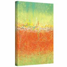Jan Weiss 'Textured Earth' Gallery-Wrapped Canvas Wall Art