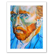 Susi Franco 'My Own Private Vincent van Gogh' Unwrapped Canvas Wall Art