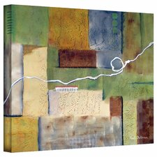 Herb Dickinson 'Weaving' Unwrapped Canvas Wall Art