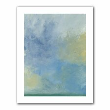 Jan Weiss 'Misty Sky' Unwrapped Canvas Wall Art