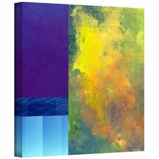 Jan Weiss 'Earth Squares II' Unwrapped Canvas Wall Art