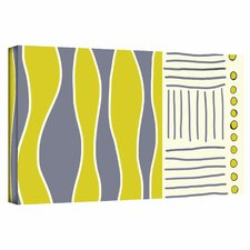 Jan Weiss 'Fabric Design I' Gallery-Wrapped Canvas Wall Art