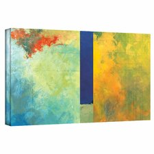 Jan Weiss 'Textured Earth Panel III' Gallery-Wrapped Canvas Wall Art