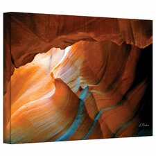 Linda Parker 'Slot Canyon V' Gallery-Wrapped Canvas Wall Art