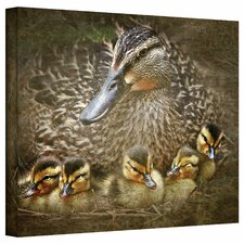 David Liam Kyle 'Baby Ducks' Gallery-Wrapped Canvas Wall Art