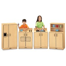 The Natural Birch Kitchen - 4 Piece Set