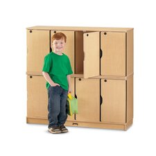 Double Stack Lockable Lockers