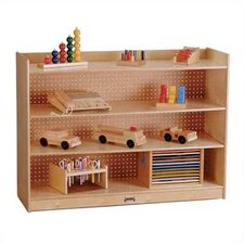 "ThriftyKYDZ 36"" H Mobile Bookcase w/ Lip"