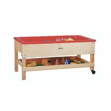Sand-n-Water Table w/ Shelf - Toddler Height
