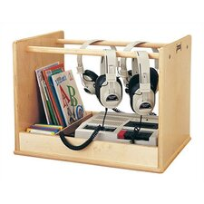 Audio Caddie Multimedia Tabletop Storage Rack