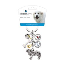 Great Pyrenees V3 Key Chain