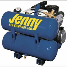 4 Gallon Tank 4 HP Hand Carry Portable Gas Air Compressor