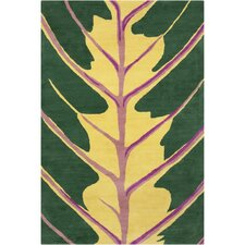 Cinzia Dark Green Tree Rug