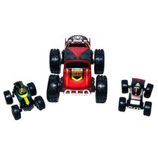 Regenerators Iron Man, Thor and Hulk Vehicle 3 Piece Set