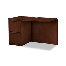 "Arrive Returns for Single Pedestal 29.5"" H x 48"" W Left Desk Return"