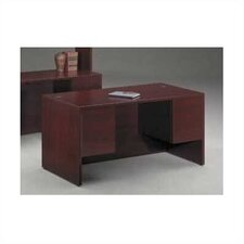 "10500 Series 3/4"" Height Double Pedestal Desk"