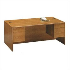 "10700 Series 60"" W Double 3/4 Pedestal Executive Desk"