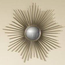 Mini Sunburst Mirror in Nickel