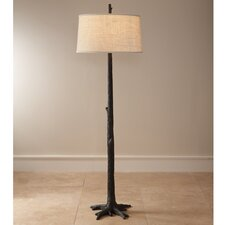 Faux Bois 1 Light Floor Lamp