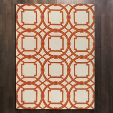 Arabesque Coral Rug
