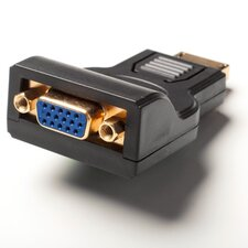 Male Display Port to VGA Female Adapter