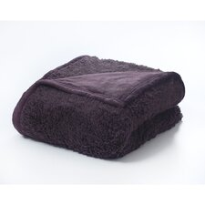 Sherpa Polyester Throw Blanket