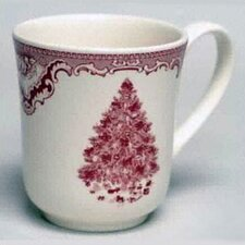 Old Britain Castles Pink Christmas Mug