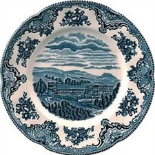 Old Britain Castles Blue Salad Plate