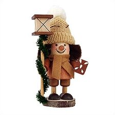 Gingerbread Man in Natural Wood Finish Ornament